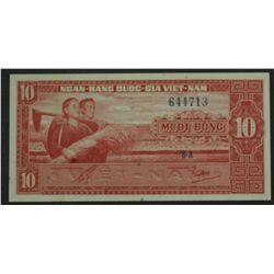 South Vietnam 1962 10 Dong