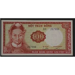 South Vietnam 1966 100 Dong