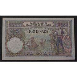 Yugoslavia 1929 100 Dinara