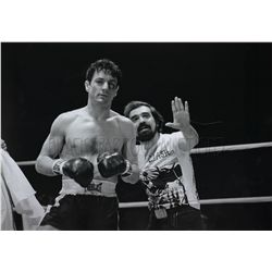 Limited Edition MGM Photograph of Robert De Niro and Martin Scorsese from Raging Bull