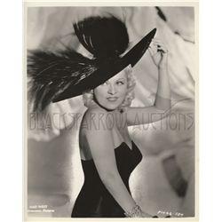Mae West Original Vintage Photo