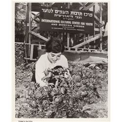 Millie Perkins Original Vintage Photo from Launching Tour for The Diary of Anne Frank