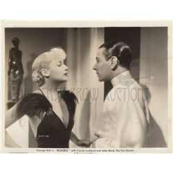 Carol Lombard and George Raft Original Vintage Photo Still from Bolero