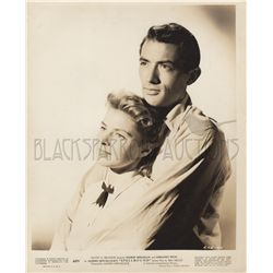 Ingrid Bergman and Gregory Peck Photo from Spellbound