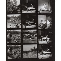 Original Vintage Contact Sheet from It's a Mad, Mad, Mad, Mad World