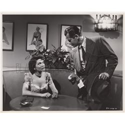 Collection of (4) film noir original stills from The Big Heat featuring Glenn Ford