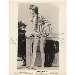 Brigitte Bardot collection of (4) original stills from Mam'zelle Pigalle