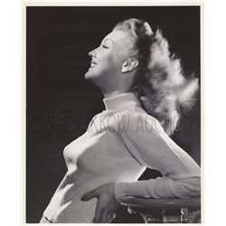 Starlets in tight sweaters collection of (8) original portraits of Julie Adams, Ann Savage, etc