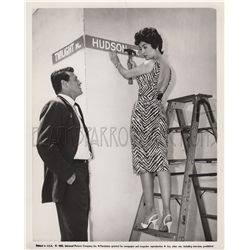 Rock Hudson collection of (4) original stills from Gun Fury and This Earth is Mine!