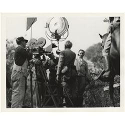 Famous directors 1920s-1940s collection of (4) original stills including Charles Chaplin