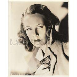 Dangerous dames with guns 1930s-1960s collection of (8) original stills