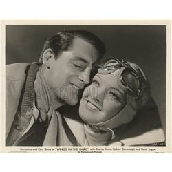 Cary Grant and Myrna Loy collection of (3) original stills from Wings in the Dark
