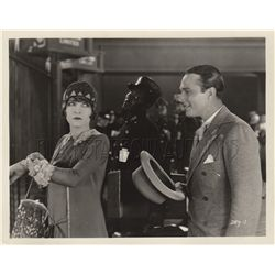 William Haines and Claire Windsor collection of (9) original stills from A Little Journey