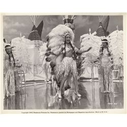 Dorothy Lamour musical numbers collection of (4) original stills from Riding High