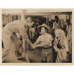 Edwina Booth and Harry Carey collection of (5) original stills from Trader Horn