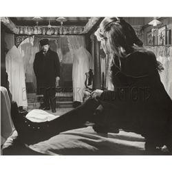 Omar Sharif, Geraldine Chaplin, and others collection of (7) original stills from Doctor Zhivago