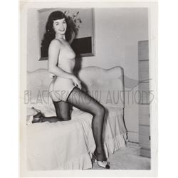 Bettie Page 1950s collection of (4) original Irving Klaw portraits