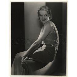 Original vintage portrait of Verree Teasdale by George Hurrell