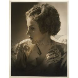 Original vintage portrait of Margaret Perry by George Hurrell