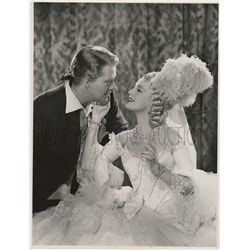 Clarence Sinclair Bull Original Vintage Photo of Nelson Eddy and Jeanette MacDonald in New Moon