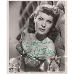 Vintage Maureen O'Hara Signed Photo