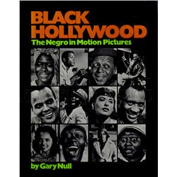 Black Hollywood Signed Book