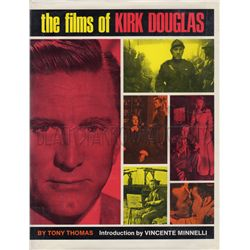 The Films of Kirk Douglas Signed Book