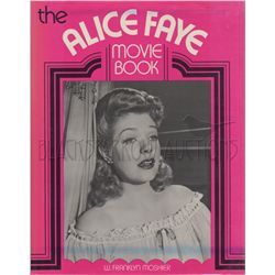 The Films of Alice Faye Book Signed