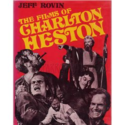 The Films of Charlton Heston Signed Book