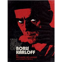 The Films of Boris Karloff Signed Book