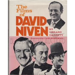 The Films of David Niven Signed Book
