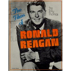The Films of Ronald Reagan Signed Book