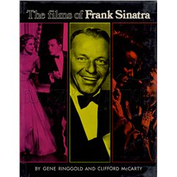 The Films of Frank Sinatra Signed Book