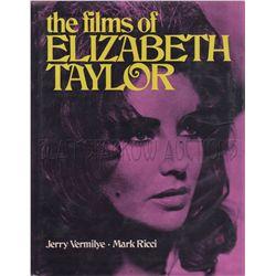The Films of Elizabeth Taylor Signed Book