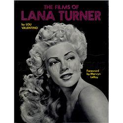 The Films of Lana Turner Signed Book