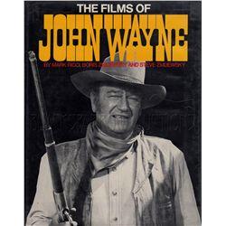 The Films of John Wayne Signed Book