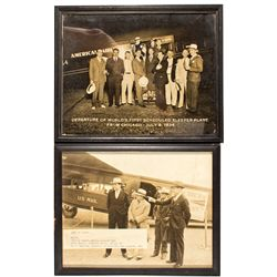 American Airlines Vintage Framed Photos