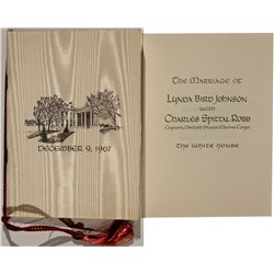 Lynda Bird Johnson and Charles S. Robb Wedding Invitation
