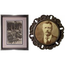 CA,San Francisco-,Teddy Roosevelt's San Francisco Visit Souvenirs