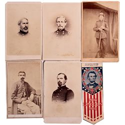 Civil War Generals CDV Collection