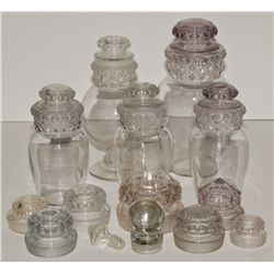 Collection of Candy Jars