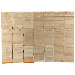 AZ,Clifton-Graham County,Arizona Indictment Papers *Territorial*