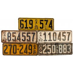 CA,-,Californian License Plates