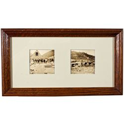 CA,-Sierra County,Pack Horses for Poker Flat Framed Photos