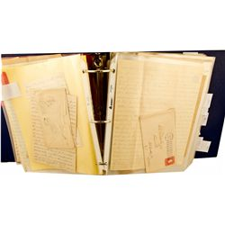 CA,El Dorado County-,Significant Gold Rush Archive of Myron Angel to M.D. Fairchild