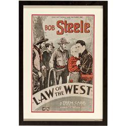 CA,Hollywood-Los Angeles County,1932 Bob Steele Movie Sheet