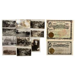 CA,Placerville-El Dorado County,Placerville Area Stocks and Postcards