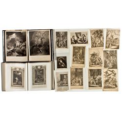 CA,San Francisco-,15th Century Wood Block Prints