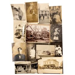 CA,Santa Cruz-,N.E. Johnson Family Photos