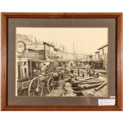 Dakota South,Deadwood-Lawrence County,Deadwood Lithograph